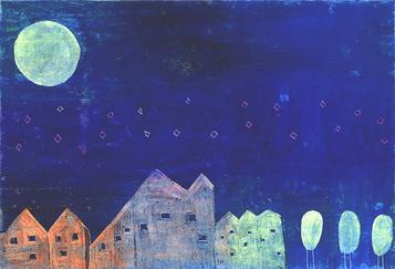 そして 青い月